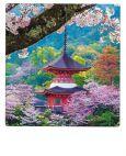 AQUAPURELLA Mitaki-dera Tempel, Japan - Bon Voyage Postkarte + Umschlag