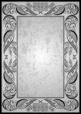 LYSCO Schwarze Ornamente Vintage 10 Blatt A4 Briefpapier