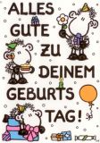 sheepworld Alles Gute zu Deinem Geburtstag! Postkarte