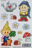 VIELSEIDIG Zwerge Glitzer Sticker