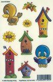 VIELSEIDIG Vogelhäuser Glitzer Sticker