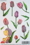 VIELSEIDIG Tulpentäubchen Glitzer Sticker