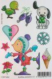 SAFURI Eiselfchen Glitzer Sticker