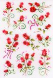Herma Rosen transparent Sticker