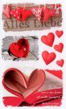 BSB Alles Liebe Herzen Sticker