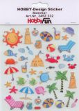 HobbyFun Sommer Hobby-Design Sticker