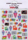 HobbyFun Schule II Hobby-Design Sticker