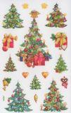 Z-Design Weihnachtsbäume Sticker