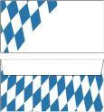PKS Bayern Rauten Briefumschläge DL