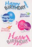 Herma Happy Birthday Sticker