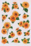 Herma Sonnenblumen mit Glitzer Sticker