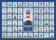 WUP Leuchttürme in Deutschland Postkarte