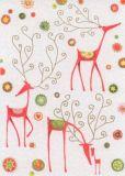 GRÄTZ Moderne Rentiere Weihnachten Postkarte