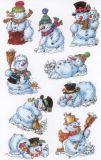 BSB Schneemänner Sticker