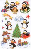 BSB Pinguine Weihnachten Sticker