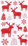 BSB Rote Elche Weihnachten Sticker
