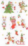 BSB Rudi Rentier Weihnachten Sticker