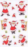 BSB Lustige Weihnachtsmänner Sticker