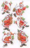 BSB Santa Claus Weihnachten Sticker