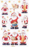 BSB Musizierende Nikoläuse Weihnachten Sticker