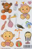 VIELSEIDIG Babys Glitzer Sticker