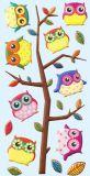 HobbyFun Eulen CREApop Softy Sticker