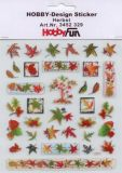 HobbyFun Herbst Hobby-Design Sticker
