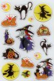 Herma Halloween Hexen Glitter Stone Sticker