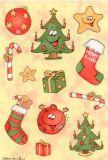 Herma Weihnachtsschmuck Sticker