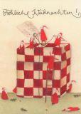 GRÄTZ Fröhliche Weihnachten - Riesenpaket Postkarte