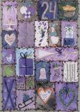 GRÄTZ Blaue Weihnachten - Brigitte Els-Schleuder Postkarte