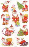 Z-Design Lustige Weihnachtsmänner Sticker