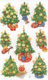 Z-Design Weihnachtsbäume mit Glitzer Sticker