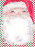 RIA & RO Santas Face Briefpapier US Format