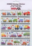 HobbyFun Baufahrzeuge Hobby-Design Sticker