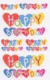 BSB Happy Birthday Herzen Sticker