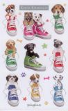 BSB Hunde in Schuhen - Keith Kimberlin Sticker
