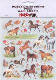 HobbyFun Pferde Hobby-Design Sticker