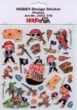 HobbyFun Piraten Hobby-Design Sticker
