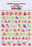 HobbyFun Früchte Hobby-Design Sticker