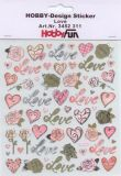 HobbyFun Love Hobby-Design Sticker