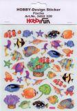 HobbyFun Fische Hobby-Design Sticker