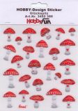 HobbyFun Glückspilz Hobby-Design Sticker