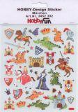 HobbyFun Märchen Hobby-Design Sticker