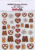 HobbyFun Bier-Feste Hobby-Design Sticker