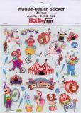 HobbyFun Zirkus Hobby-Design Sticker