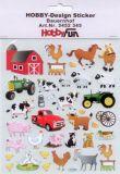 HobbyFun Bauernhof Hobby-Design Sticker