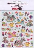 HobbyFun Baby Hobby-Design Sticker