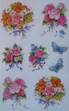 BSB Blumensträuße + Schmetterlinge Sticker