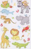 BSB Dschungeltiere + Zahlen Sticker
